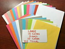 Envelopes Assortment Hallmark 10 Small size & 15 Large size 1 of each Color 25 T