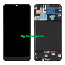 DISPLAY TOUCH SCREEN +FRAME SAMSUNG GALAXY A50 SM-A505FN/DS NERO VETRO SCHERMO