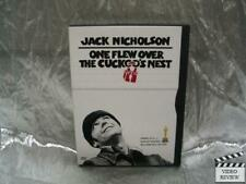 One Flew Over The Cuckoo's Nest DVD Jack Nicholson