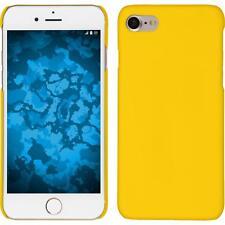 Funda Rígida Apple iPhone 7 / 8 - goma amarillo + protector de pantalla