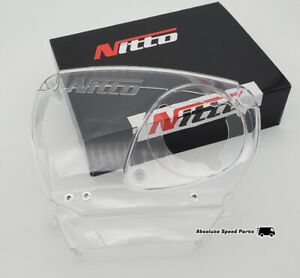 New NITTO Clear Timing Belt Cover for Nissan Skyline RB26DETT Cam Cover