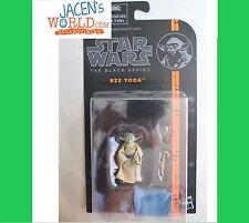 Yoda #22 : Star Wars Black Series 3.75 inch Action Figure Jedi Training Wave 5