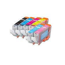 6 PK Ink Cartridges + Smart Chip for Canon CLI-8 Photo Pixma iP6600D iP6700D