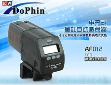 aquarium Auto feeder adjustable automatic digital fish LCD display float feeder