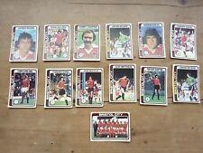 13 Bristol City 1979 Topps Blue Back Football Cards