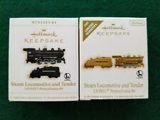 Hallmark miniature ornaments - Lionel Pennsylvania B6 locomotive and tender