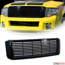 Glossy Black Horizontal Front Hood Bumper Grill Grille Fit 07-14 Ford Expedition