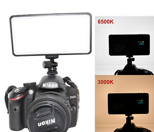 koolehaoda 180 Beads LED on-Camera Video Light Metal Frame