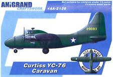 Anigrand Models 1/72 CURTISS YC-76 CARAVAN World War II Transport