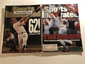 1998 Sports Illustrated ST LOUIS Cardinal Mark McGWIRE #62 Set Lot NEWSSTAND #70
