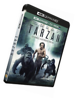 Tarzan [4K Ultra HD + Blu-ray + Copie Digitale UltraViolet] HD + + Digital