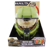 "A Steve Downes Signed Halo Master Chief Helmet with ""Finish the Fight"""