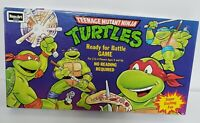 Teenage Mutant Ninja Turtles Ready For Battle Board Game Vintage 1980s 80s 100%