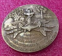 Colonial French Empire medal by TSCHUDIN