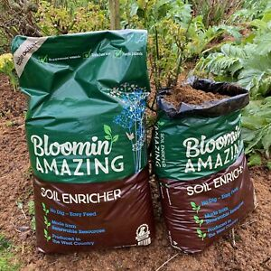 Bloomin Amazing. soil conditioner organic and vegan friendly 50L compost mulch
