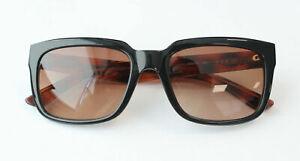 Karl Lagerfeld Black Havana Womens Plastic UV Shades Sunglasses KS6011 001 A189B