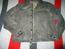 STS Ranchwear The Maverick Mens Leather Jacket Rustic Rawhide Gray Small