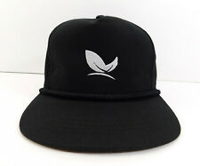MEDTERRA Logo HAT Black The Classics Snapback Adjustable Cap Hemp