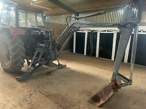 Tractor Backhoe Digger Ditch Backactor Linkage Mounted