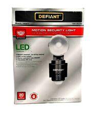 Defiant 180 Degree 1-Head LED Motion Sensing Battery Power Outdoor Flood Light