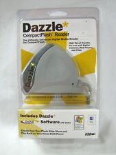 Dazzle Compact Flash Card Reader Writer SD MMC USB for Windows and Mac