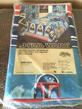 1979 MINT UNOPENED ROOM CONCEPTS STAR WARS BOBA FETT BEDSPREAD Bunk Size RARE
