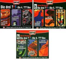 9 CDs * DIE DREI ??? (FRAGEZEICHEN)-FOLGEN 10-18 (CD BOX 4+5+6) SET # NEU OVP =