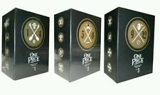One Piece Collection Box Sets 1-3 Volumes VOL 1-12 (48 DISC DVD) Boxsets 1 2 3