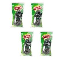 3M Scotch-Brite Stainless Steel Scouring Pad, 2 Pads per pk (4 packs)