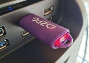 2GB ZPG USB Capless Slider Flash Pen Thumb Drive Memory Stick Key Retractable