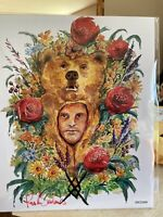 Bam Box Horror Fan Art From Midsommar By Artist Ken Salinas