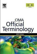 Management Accounting Official Terminology (CIMA Exam Support Books), Eaton, Gra