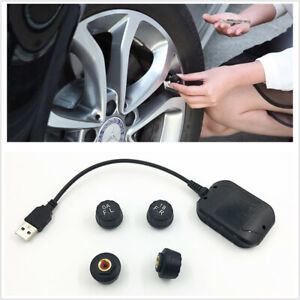 TPMS USB Car Tire Pressure Monitoring System Fit For Android Navigation Display