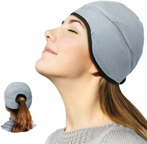 Headache Migraine Pain Relief Ice Gel Head Cap Mask Cool Pack Hat Reduce Stress