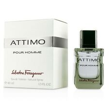Attimo Pour Homme By Salvatore Ferragamo 1.3 Oz Edt Spray for Men New and Sealed
