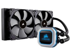 Corsair CW-9060032-WW H115i PRO RGB 280mm Radiator Liquid CPU Cooler