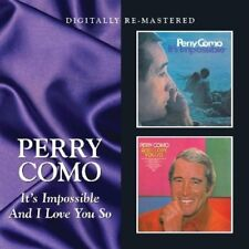 PERRY COMO - IT'S IMPOSSIBLE/AND I LOVE  CD NEUF
