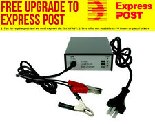 Odyssey Battery Charger 3 step 12 Volt - 4 amp, suitable for 12Ah-60Ah lead-acid