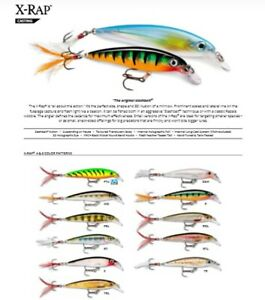 Rapala X-Rap // XR08 // 8cm 7g Fishing Lures (Choice of Colors)