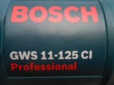 Bosch Betonschleifer-Winkelschleifer GWS 11-125 CI Professional 1100 Watt