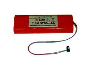 Senderakku für MPX Sender, PROFI mc 3000 , 4000 , Comander2020 7.2V3700mAh