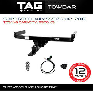 TAG Towbar Fits Iveco Daily 2012 - 2016 Towing Capacity 3500Kg 4x4 4WD Exterior