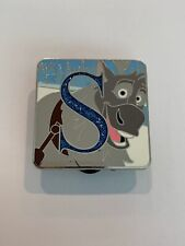 Mystery Collection ALPHABET Letter S SVEN CHASER LE 400 Frozen Disney Pin (B1)