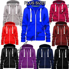 Polyester Hooded Plus Size Hoodies & Sweats for Women