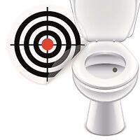 4 x Aufkleber WC Zielscheibe Bullauge Toilette Toilettensticker Tattoo Pissior