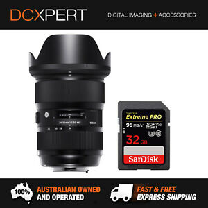 SIGMA 24-35MM F/2 DG HSM ART LENS FOR NIKON (4588955)