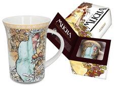 Alfons Alphonse Mucha Winter Becher Tasse Geschenkkarton 0 3l 300ml