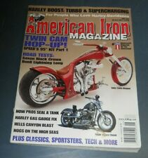 AMERICAN IRON MAGAZINE JUN 2006 TWIN CAM HOP UP HARLEY BOOST TURBO & SUPERCHARGE