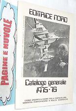 EDITRICE NORD - CATALOGO fantascienza e fantasy 1975-1976