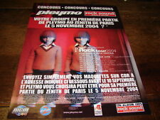PLEYMO - Publicité de magazine ROCK TOUR 2004 - ROCK SOUND !!!!!!!!!!!!